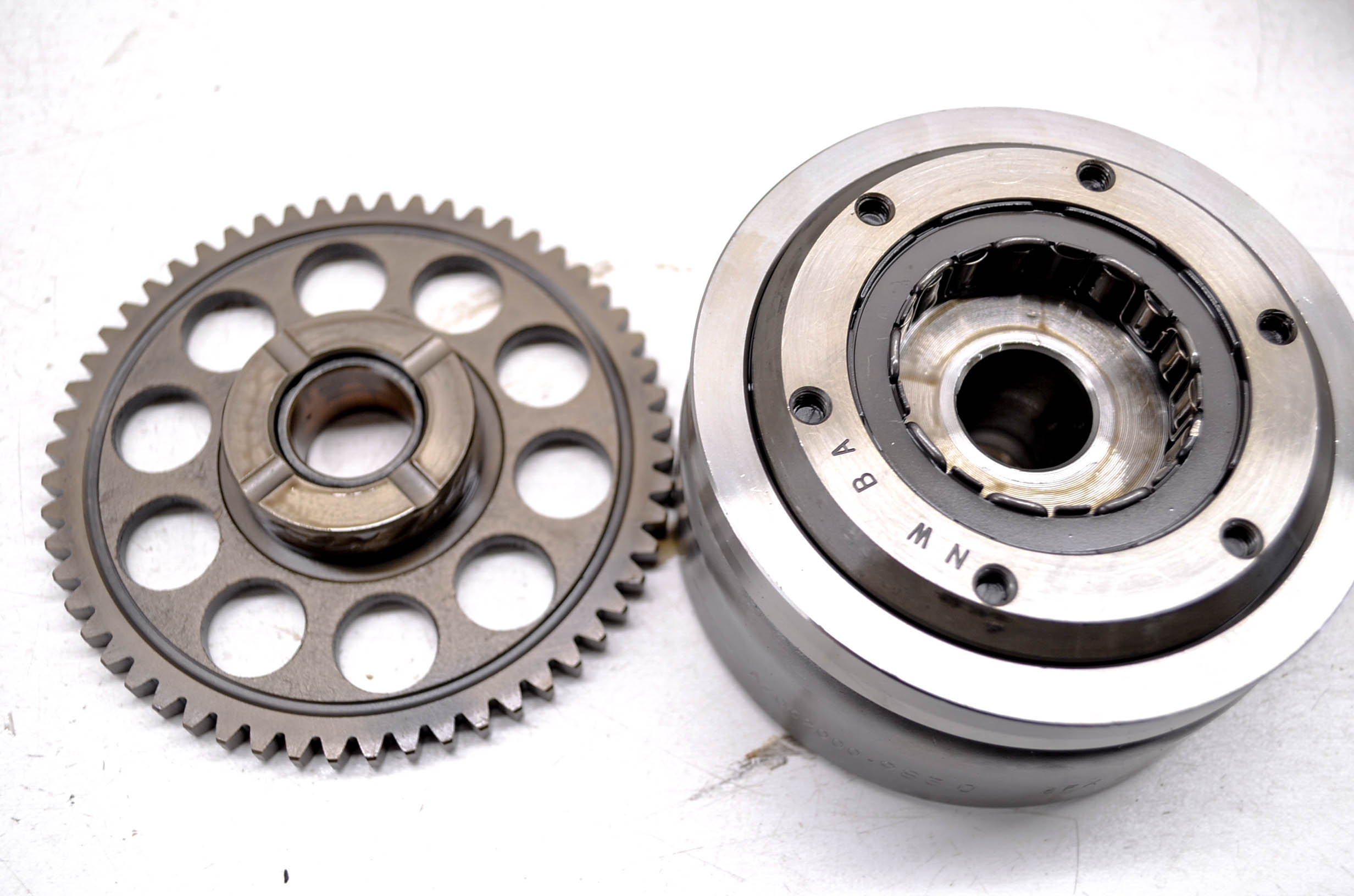 08 Honda CRF230F Flywheel Starter Clutch Bearing & Gear | eBay