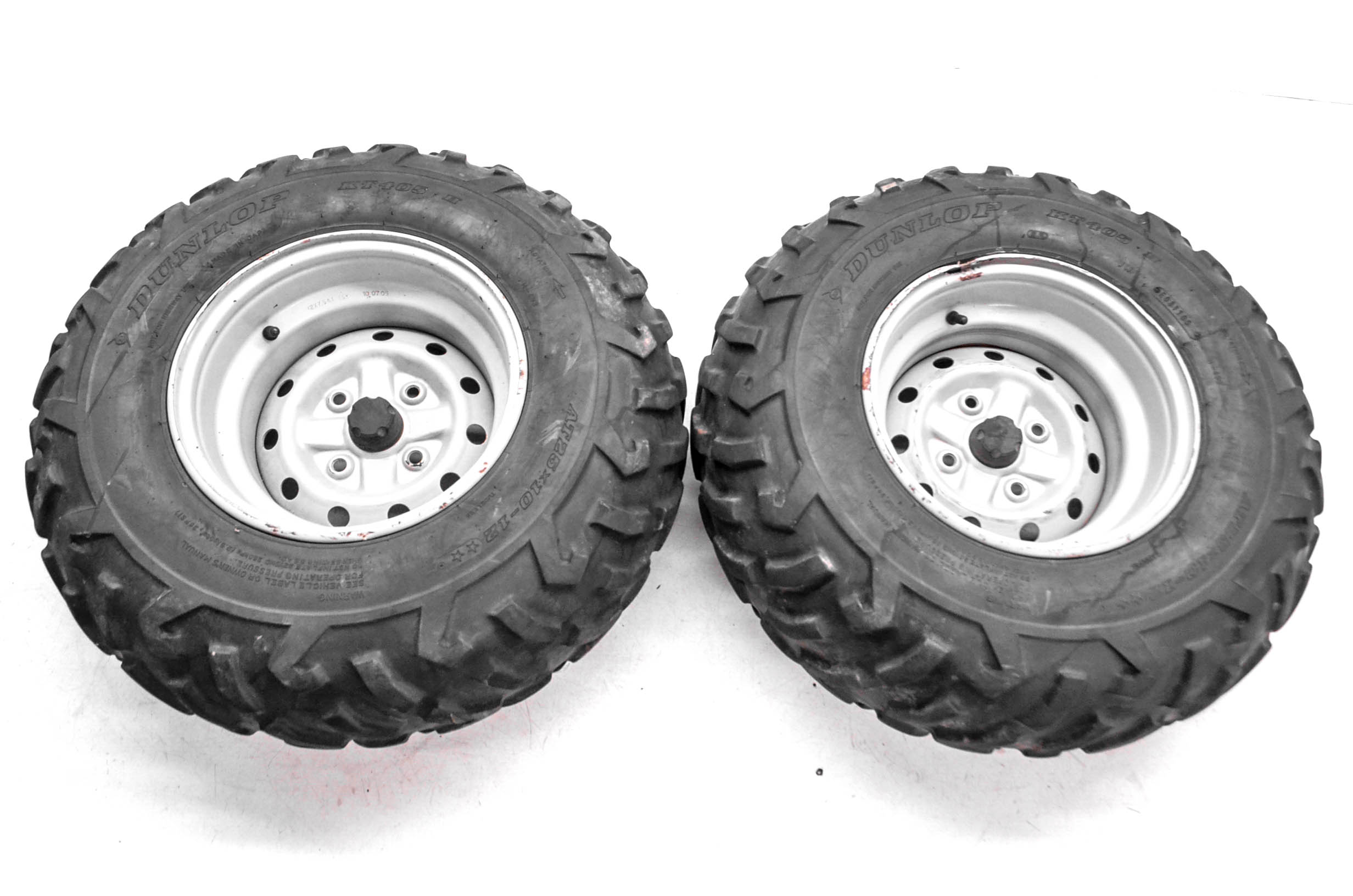 06 Suzuki Eiger 400 4x4 Rear Wheels Rims  U0026 Tires 25x10