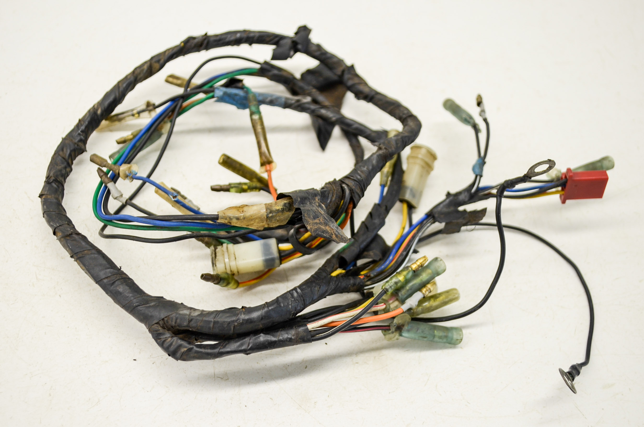 91 yamaha blaster 200 wire harness electrical wiring yfs200 2x4 ebay rh ebay com Yamaha Blaster Wiring- Diagram yamaha blaster 200 wiring harness