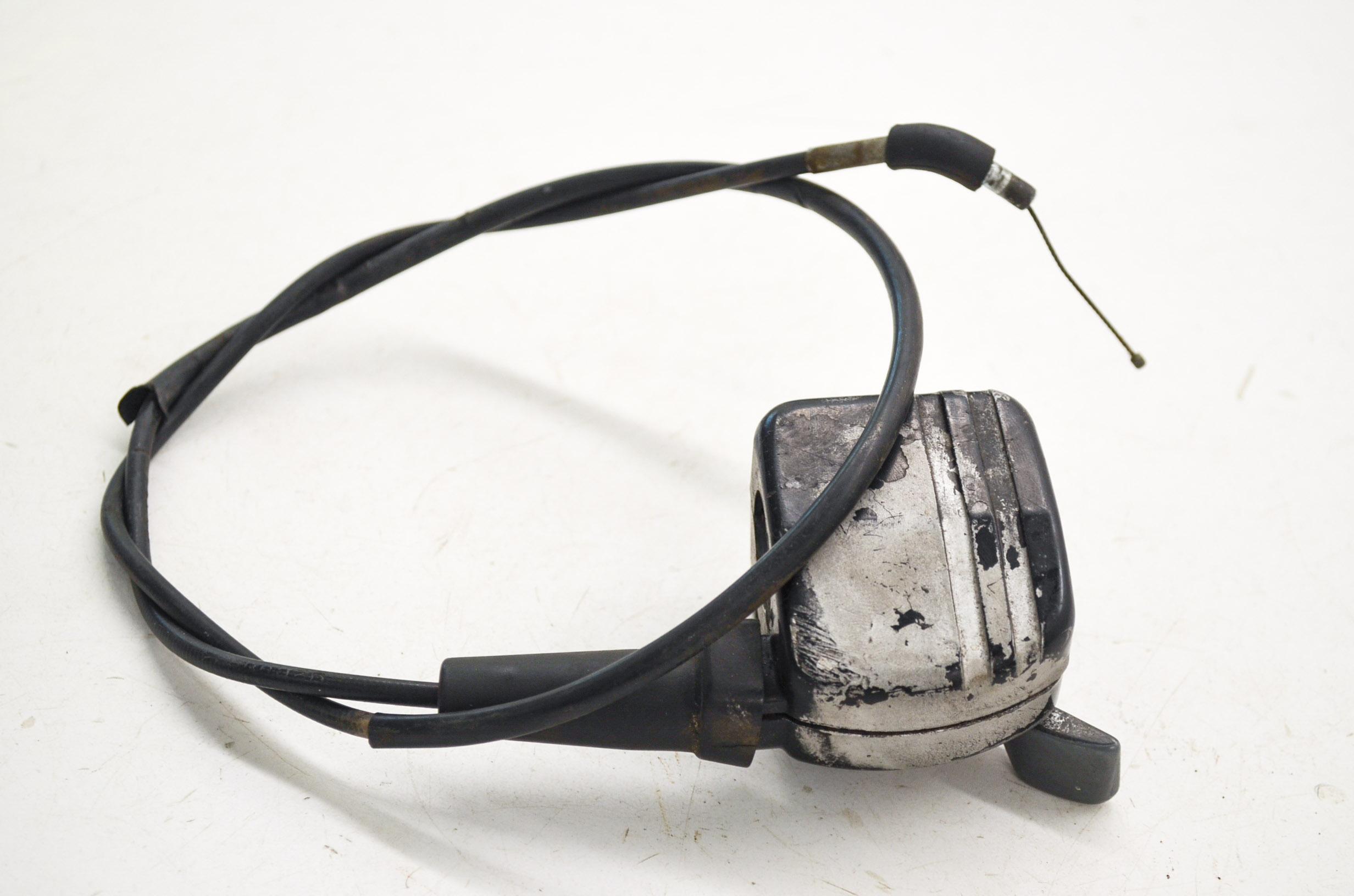 89 suzuki quad runner 160 thumb throttle & cable lt160e 2x4 | ebay