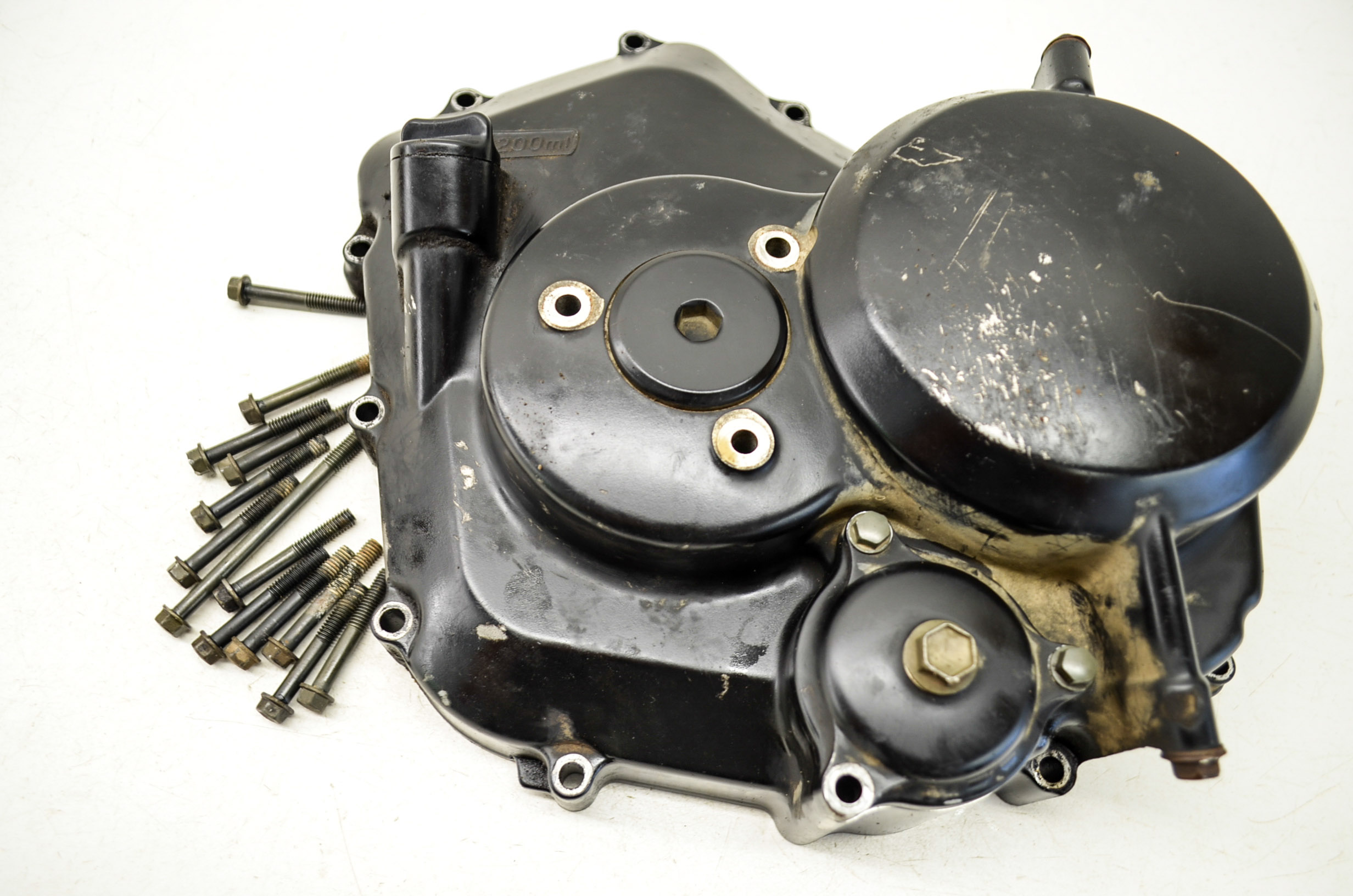 Suzuki Ozark 250 Clutch Diagram Carburetor Problems Wiring 02 Cover Ltf250 2x4 Ebay Parts