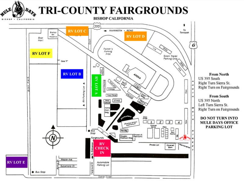 Tri-County Fairgrounds map