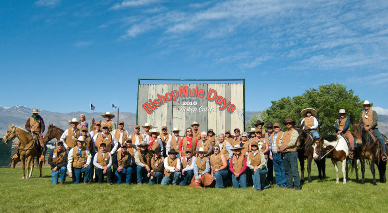 Mule Days Volunteers