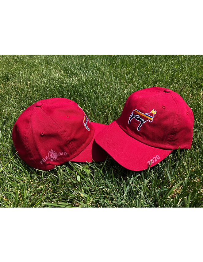 Mule Days Baseball Hat - Red