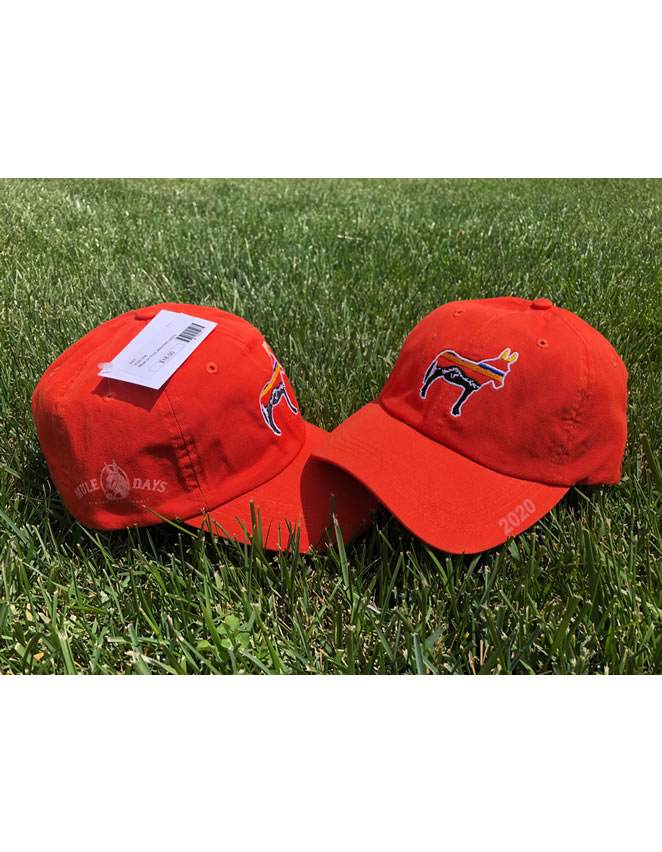 Mule Days Baseball Hat - Orange