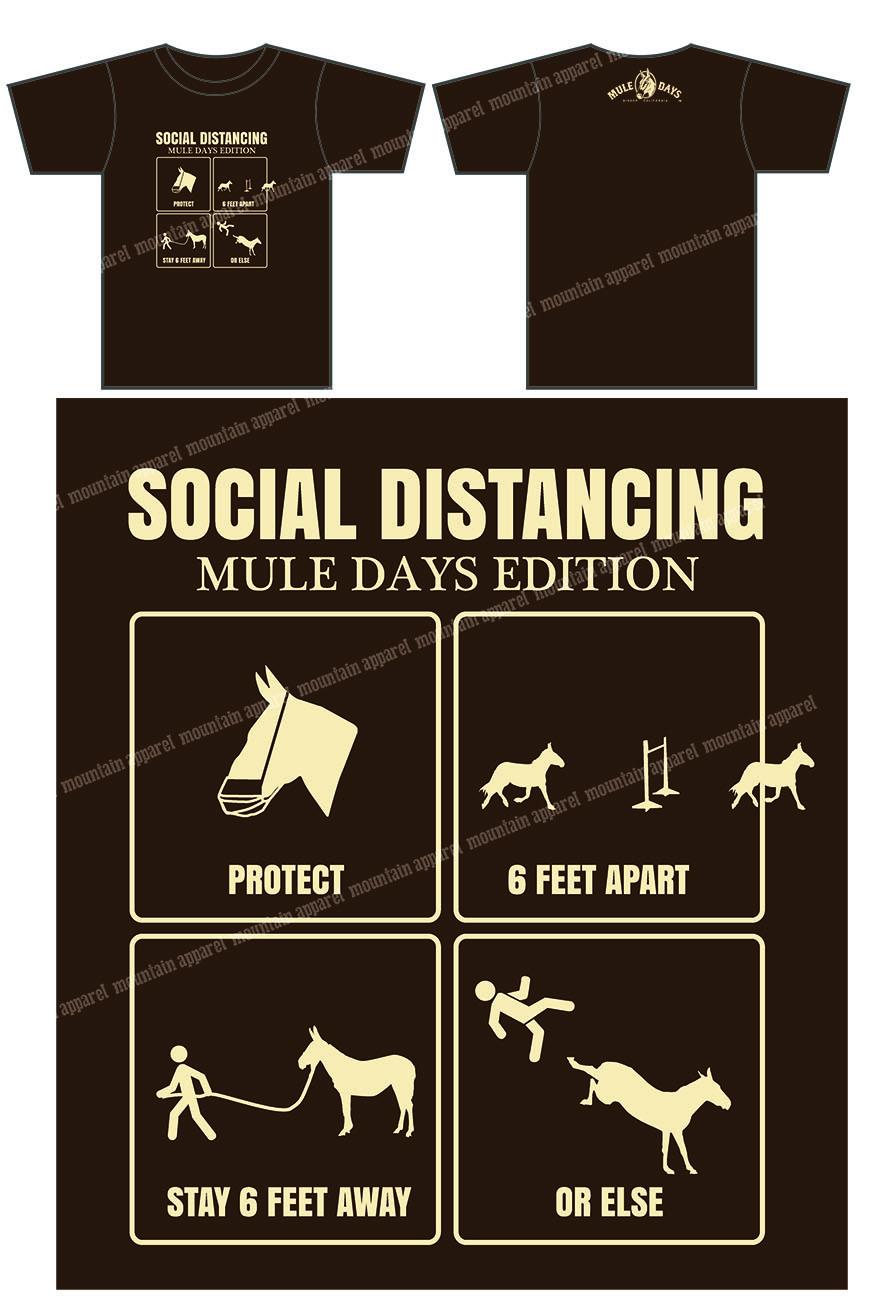 Social Distancing Mule Tee