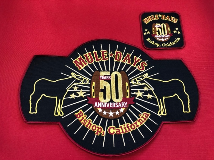 50th Mule Days Patch