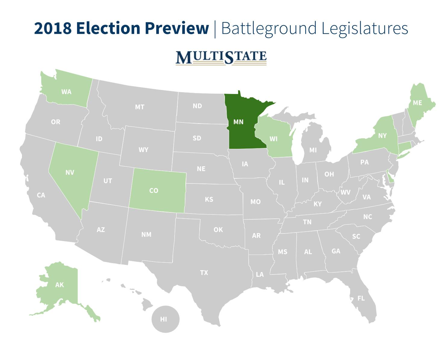 Minnesota Election Preview Map