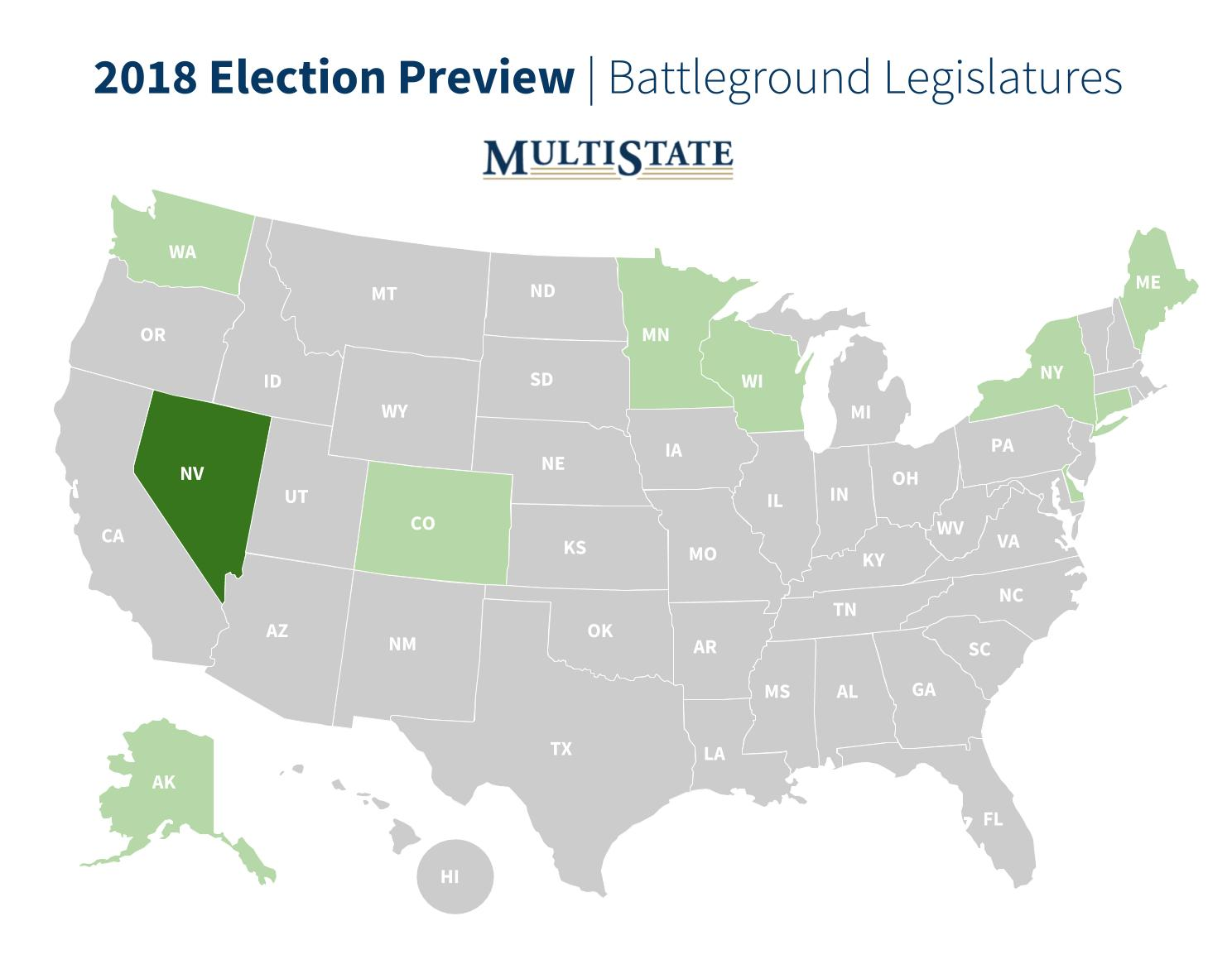 Nevada Election Preview Map