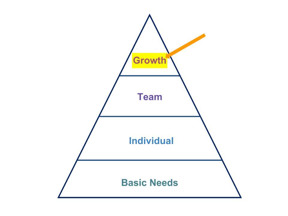 Hierarchy Pyramid-Growth