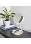 espelho de mesa branco