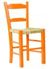 Cadeira com assento de palhinha