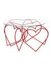mesa corações