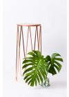 mesa lateral alta em cobre