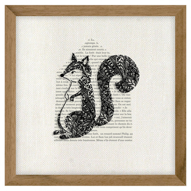 Quadro Fable - Esquilo