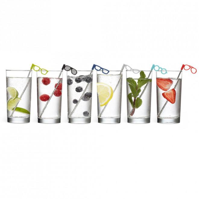 Mexedores de Drinks Glasses