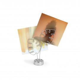 Porta-Retratos Leaflet Prata