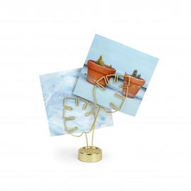 Porta-Retratos Leaflet Dourado