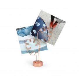 Porta-Retratos Leaflet Cobre