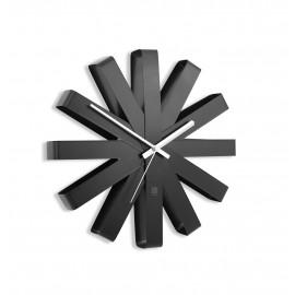 Relógio de Parede Ribbon Preto