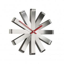 Relógio de Parede Ribbon Aço