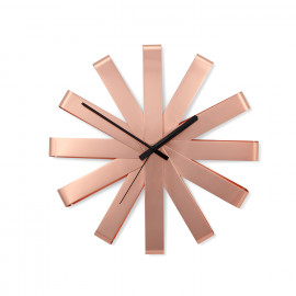 Relógio de Parede Ribbon Cobre