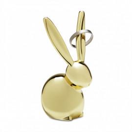 Porta-Anéis Zoola Coelho Dourado