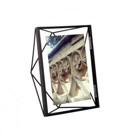 Porta-Retrato Prisma Médio Preto