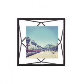 Porta-Retrato Prisma Quadrado Preto