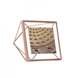 Porta-Retrato Prisma Quadrado Cobre