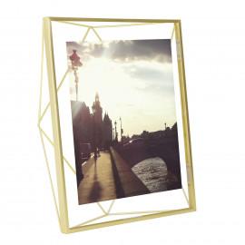 Porta-Retrato Prisma Grande Dourado