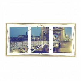 Porta-Retrato Prisma Multi Dourado