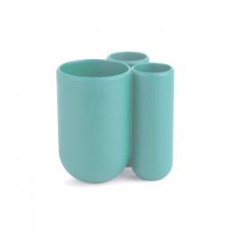 Porta Escova de Dente Touch Azul Claro