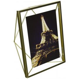 Porta-Retrato Prisma Retangular Dourado