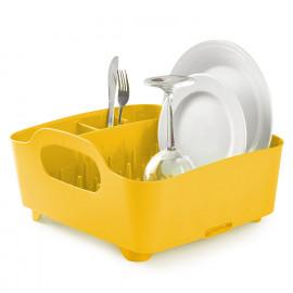 Escorredor de Pratos Tub Amarelo