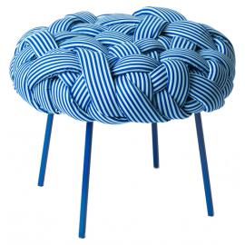 Pufe Cloud Azul