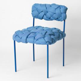 Cadeira Cloud Azul