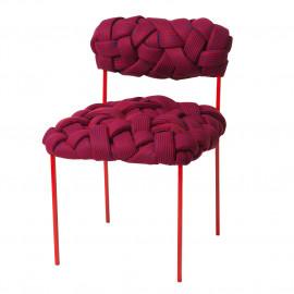 Cadeira Cloud Azul e Vermelha