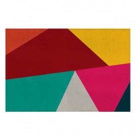 Tapete Geométrico Colorido