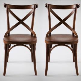 Cadeira Retrô Xis - 2 Unid.
