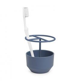 Porta Escova de Dente Fiboo Azul