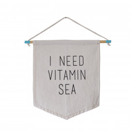 Bandeira Sea Flag - I Need Vitamin Sea