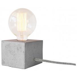 Luminária Cubo Concreto