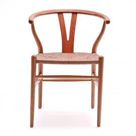 Cadeira Wishbone Natural