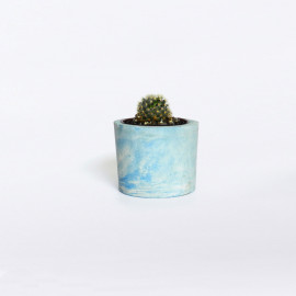 Cachepot Ci Azul