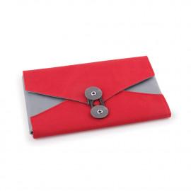 Organizador de Acessórios Envelope Vermelho