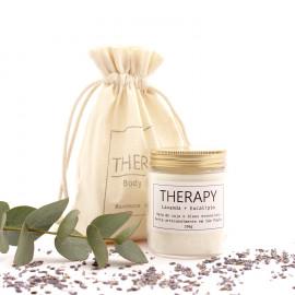 Vela Aromática Therapy - Lavanda + Eucalipto