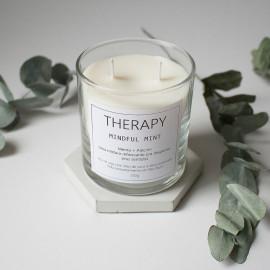 Vela Aromática Therapy - Mindful Mint (Menta + Alecrim)