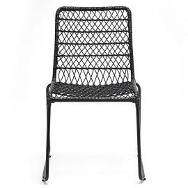 Cadeira Trama Preta