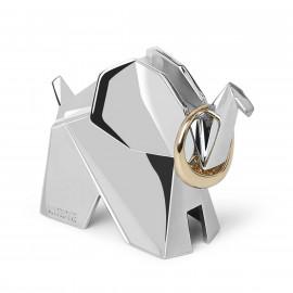 Porta-Anel Zoola Origami Elefante